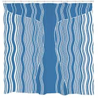 Sharp Shirter Moby Whale Shower Curtain