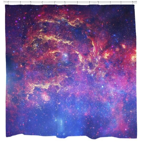 Sharp Shirter Milky Way Shower Curtain