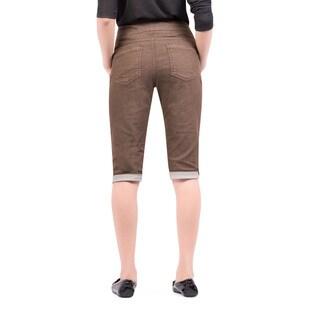 Bluberry Women's Garment-dye Bermuda Pants
