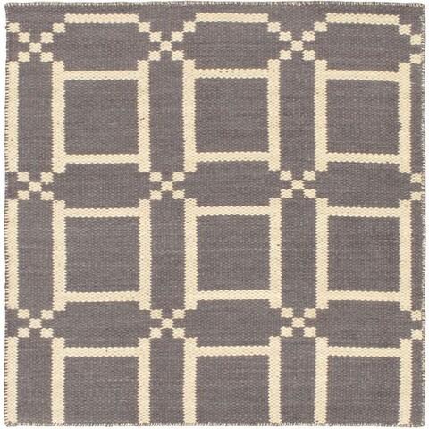 eCarpetGallery Cotton/Wool Kilim Natural Plush Rug