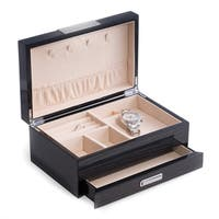 Bey Berk Steel Grey Lacquer Wood Storage Case