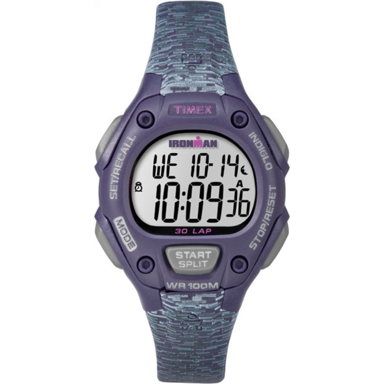 Timex TW5M075009J Ironman Classic 30 Women's Purple and G...