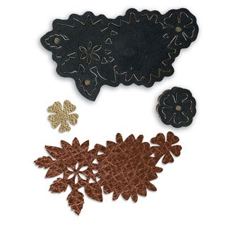 Sizzix Movers & Shapers by Jill MacKay Metal/Paper/Plastic Magnetic Die Floral Necklace