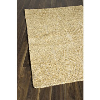 eCarpetGallery Javier Ivory/Beige Polyester Handmade Rug (3'11 x 5'11)