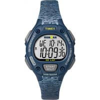 Timex Women's TW5M074009J Ironman Classic 30 Blue Resin Strap Mid-size Watch