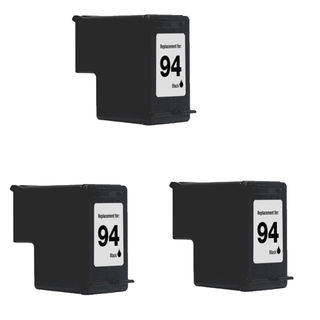 3PK Compatible C8765WN (HP 94) Ink Cartridge For HP Deskjet 5740 6540 6840 OfficeJet 6210 7310 7410 ( Pack of 3 )