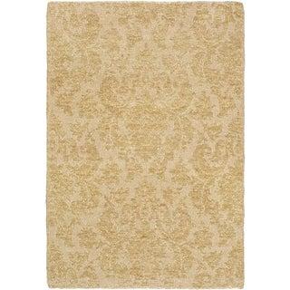 eCarpetGallery Javier Ivory Polyester Handmade Rug (3'11 x 5'11)