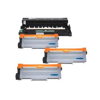 4 Pack Compatible 3 x TN660 Toner Cartridge DR630 Drum Cartridge For Brother HL-L2300D HL-L2305W HL-L2320D ( Pack of 4 )