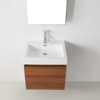 Virtu USA Zuri 24-inch Single Bathroom Vanity Set w/ Faucet