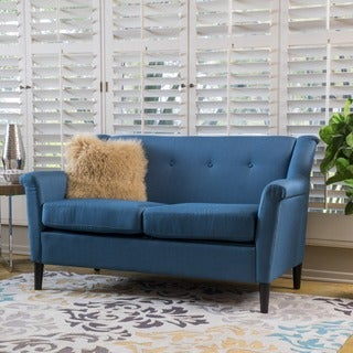 Mullin Two-Seat Fabric Sofa by Christopher Knight Home