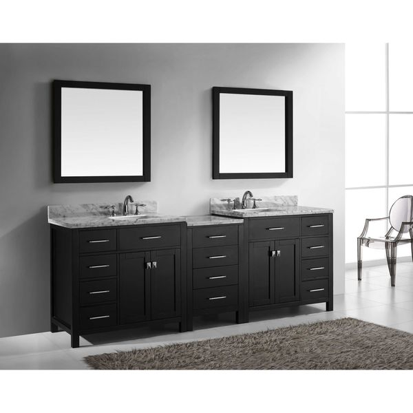 Parkway 93 Inch Square Double Bathroom