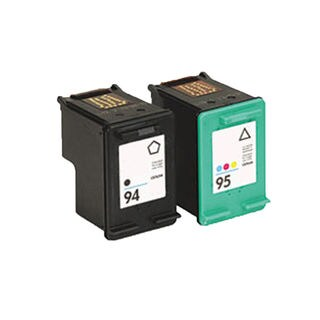 2PK Compatible C8765WN (HP 94) C8766WN (HP 95) Ink Cartridge For HP Deskjet 5740 6540 6840 OfficeJet 6210 ( Pack of 2 )