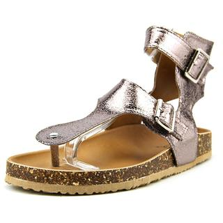 Qupid Women's Laudy-13 Silver Synthetic Sandals