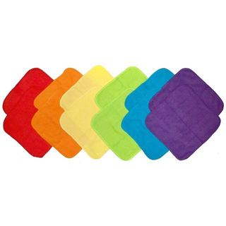 Neat Solutions Solid Bright Knit Terry Washcloths (Pack of 12)