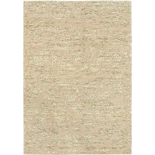 eCarpetGallery Javier Grey Polyester Handmade Rug (4'7 x 6'7)