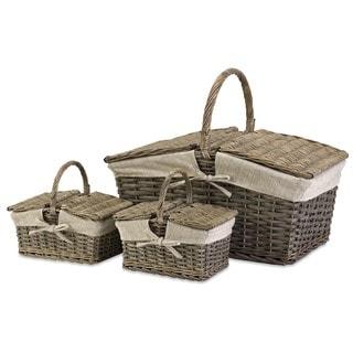 Olivia Picnic Baskets (Set of 3)