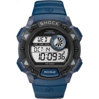 Timex Men's TW4B074009J Expedition Blue/Black Base Shock Watch