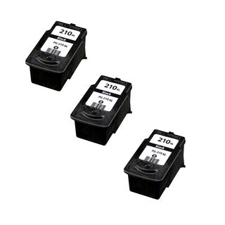 3 Pack Compatible PG-210XL Toner Cartridge For Canon Pixma MP250Canon Pixma MP270Canon ( Pack of 3 )