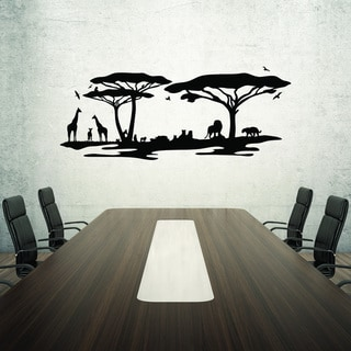 Style and Apply African Savannah Vinyl Home Decor Wall Decal