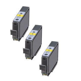 3PK Compatible PGI-9Y Ink Cartridge For Canon PIXMA Pro9500 MX7600 ( Pack of 3 )