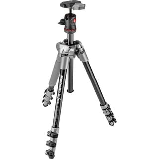 Manfrotto BeFree Compact Travel Aluminum Alloy Grey Tripod