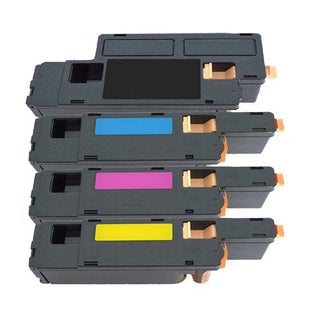 4PK Compatible C1760 BK C M Y ( 331-0778  0777 0780 0779 ) Toner Cartridge For Dell 1250C 1350CNW 1355CN 1355CNW  ( Pack of 4 )