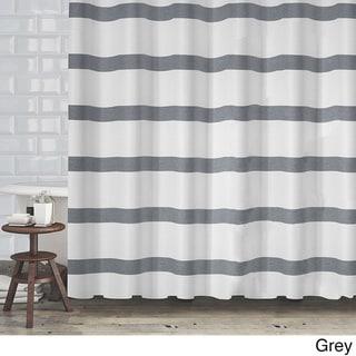 Grey Shower Curtains - Overstock.com - Vibrant Fabric Bath Curtains