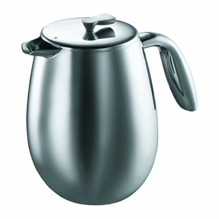 Bodum Columbia Stainless Steel Thermal 51-ounce Coffee Press Pot