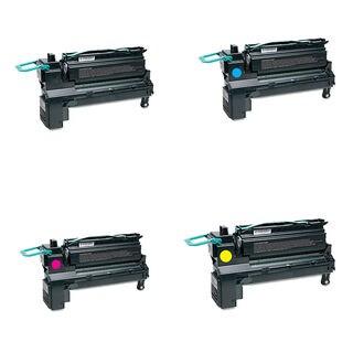 4PK Compatible C792A4KG C792A4CG C792A4MG C792A4YG Toner Cartridge For Lexmark C792DE C792DTE C792E C792DHE ( Pack of 4 )