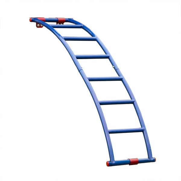 Swing-N-Slide Blue/Red Steel Arch Ladder