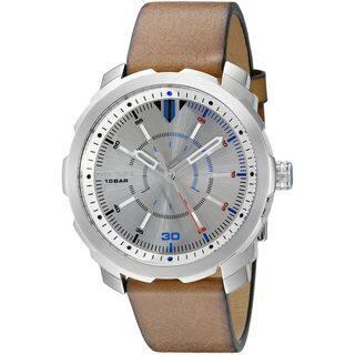 Diesel Men's DZ1736 'Machinus NSBB' Brown Leather Watch https://ak1.ostkcdn.com/images/products/11992223/P18872078.jpg?impolicy=medium