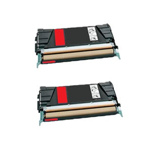 2PK Compatible C734A4MG Toner Cartridge For Lexmark C734 C734N C734DN C734DTN C734DW ( Pack of 2 )