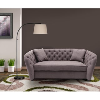 Armen Living Rhianna Transitional Fabric Loveseat