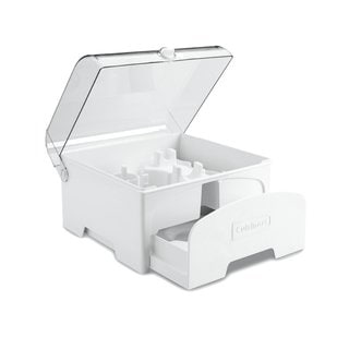 Cuisinart Elite Collection FP-12SC White Plastic Accessory Storage Case for 12-cup Food Processors