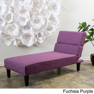 Astrid Fabric Chaise Lounge by Christopher Knight Home