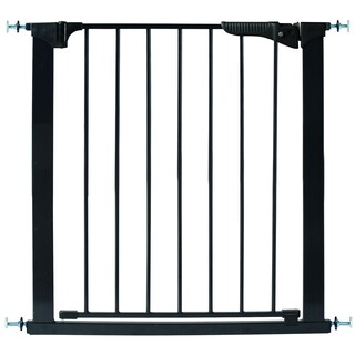 Kidco Black Stainless Steel 32-inch Pressure Mounted Gateway