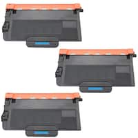 3PK Compatible TN820 Toner Cartridge For Brother DCP-L5500DN DCP-L5600DN DCP-L5650DN HL-L5000D ( Pack of 3 )