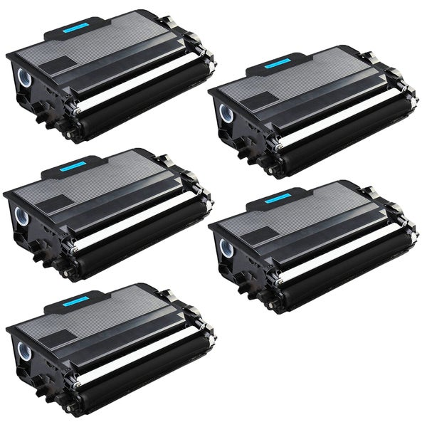 5PK Compatible TN880 Toner Cartridge For Brother DCP-L5500DN DCP-L5600DN DCP-L5650DN HL-L5000D ( Pack of 5 )