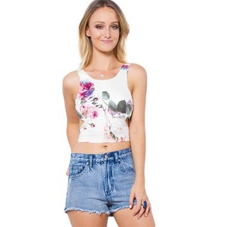 Somedays Lovin Vacancy Floral Crop Top