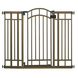 Summer Infant Bronze Metal Extra Tall Walk-Through Gate