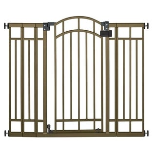 Summer Infant Bronze Metal Extra Tall Walk-Through Gate