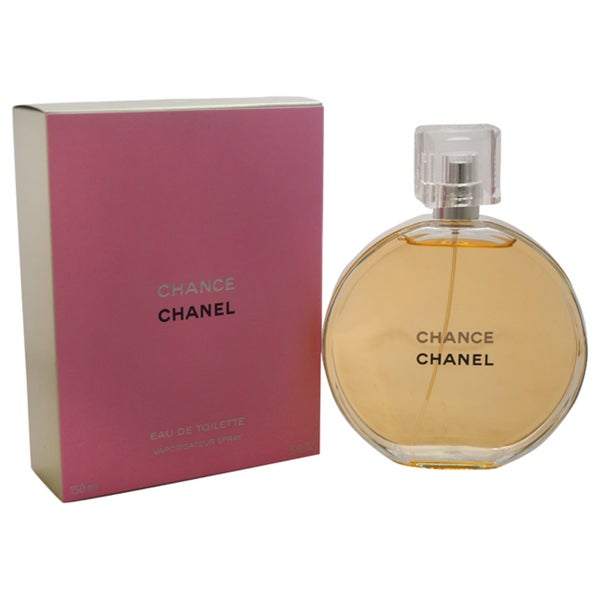 Shop Chanel Chance Women's 5-ounce Eau de Toilette Spray - Free Shipping Today - Overstock.com ...
