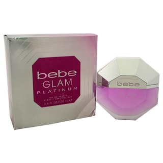 Bebe Glam Platinum Women's 3.4-ounce Eau de Parfum Spray