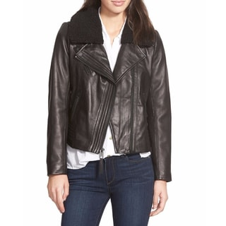 Michael Kors Women's Black Leather Jacket