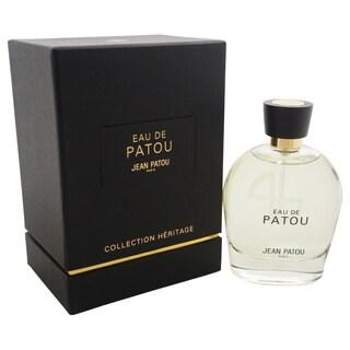 Jean Patou Eau de Patou Women's 3.3-ounce Eau de Toilette Spray
