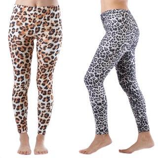 2 Pack of Cheetah Print Legging