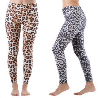2 Pack of Cheetah Print Legging