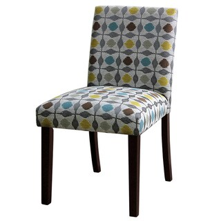Skyline Furniture Uptown Pouf Multicolored Graphite Dining Chair