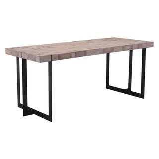 Festive Natural Pine Wood/MDF Dining Table