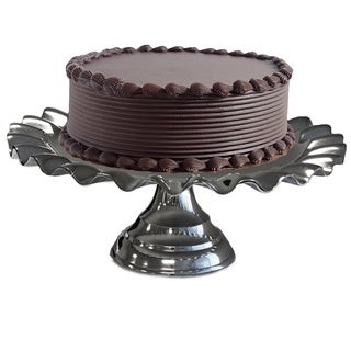 Party Essentials Silver Aluminum 18-inch Cake Stand